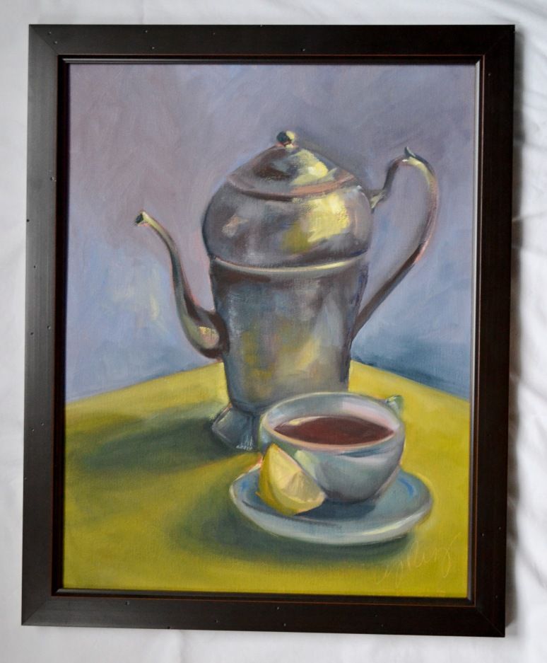 teapot and cup 1